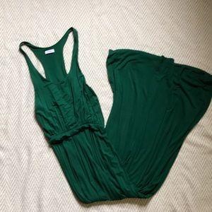 Emerald Green Maxi